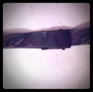 90's women's camouflage adjustable belt